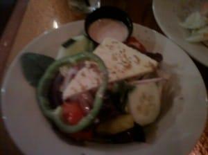 Zorba's Greek Salad Orlando