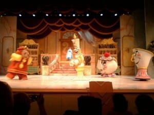 Disney Beauty and the Beast stage show