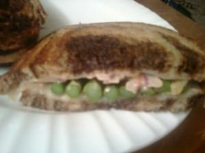 The Lady and Sons asparagus sandwich
