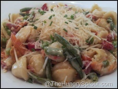 Grand Floridian Cafe Orrechiette Pasta