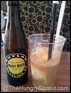 Root Beer Float at Burger 21