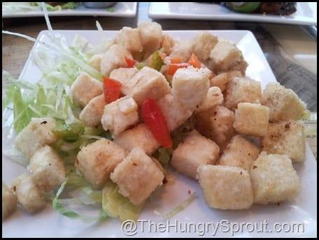 Five Spice Fried Tofu