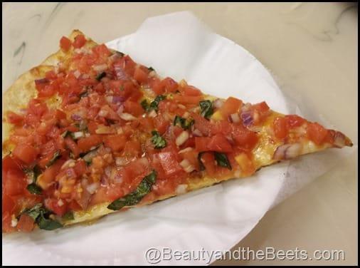 Brushetta Pizza Little Italy NYC