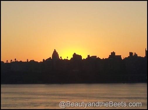Sunrise over NYC