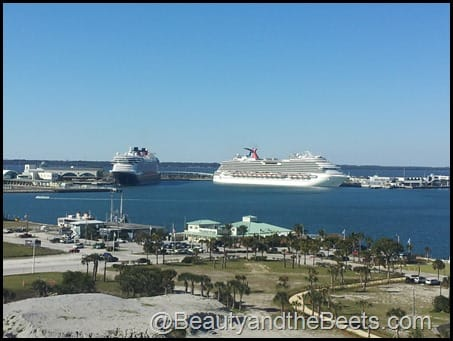 Port Canaveral cruise ships