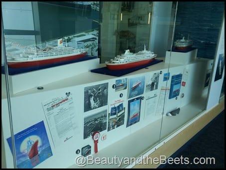Premiere Cruise Ships exhibit
