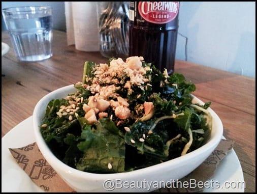 Kale Salad with Peanut