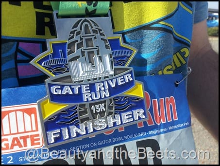 Gate River Run 2014 Medal