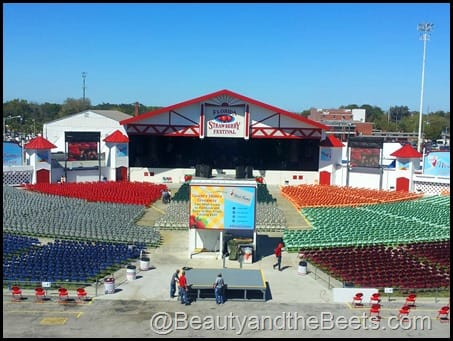 Strawberry Festival Stage