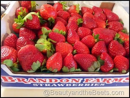 Strawberry Half Flat