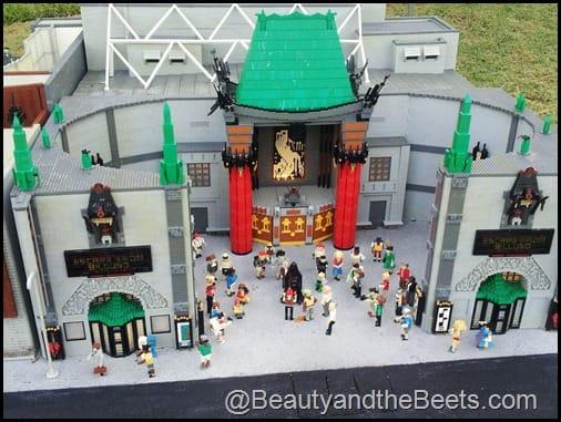 Hollywood Graumans Chinese Theatre Legoland