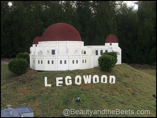 Hollywood Legowood sign