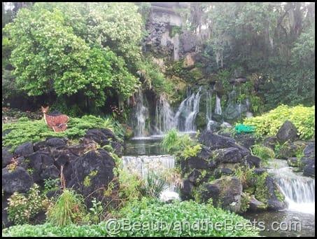 Legoland waterfall