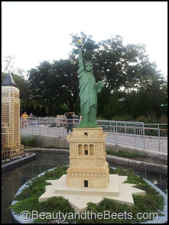 NYC Statue of Liberty Legoland