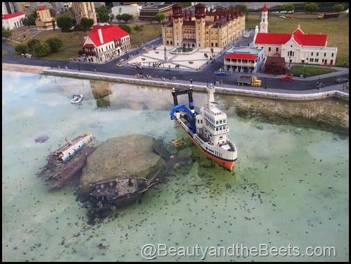 St Augustine shipwreck Legoland