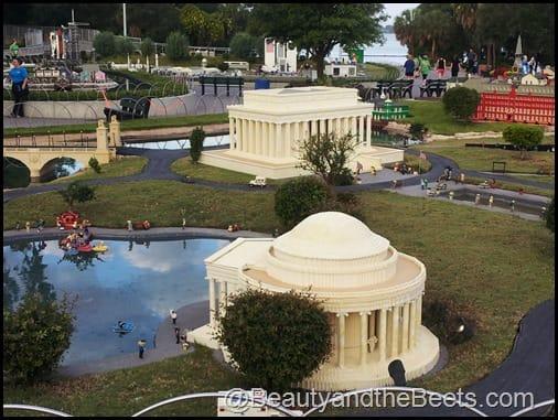 Washington DC Memorials LEgoland