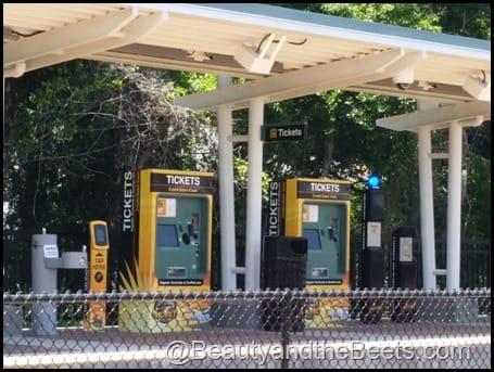 SunRail ticket machine