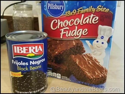 Two ingredient brownies