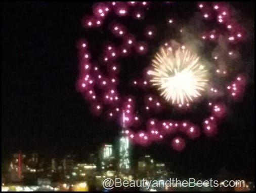 Fireworks over Manhattan Beauty and the Beets