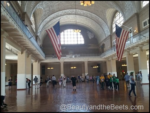 Great Hall Ellis Island Beauty and the Beets