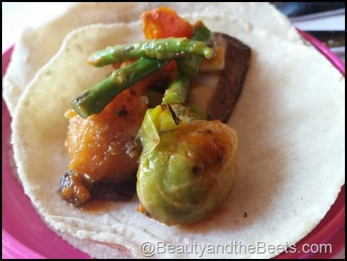 Rosa Mexicano Tacos Beauty and the Beets