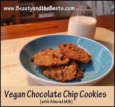 Vegan Chocolate Chip Cookies BeautyandtheBeets