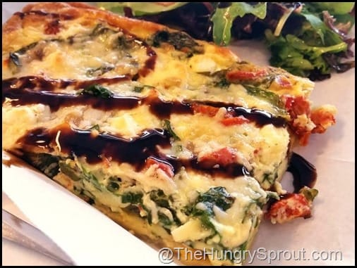 Spinach Feta Quiche Se7en Bites Bake Shop