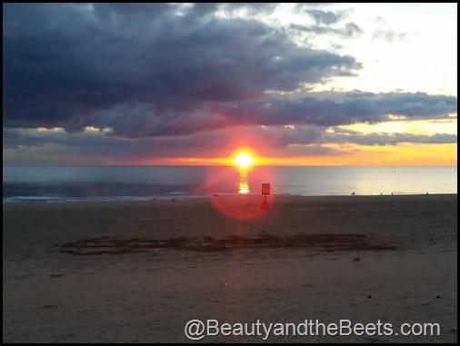 Sunrise over Lake Eerie