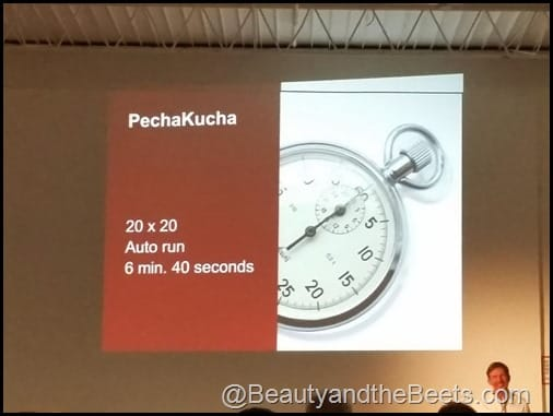 PechaKucha 20x20 Beauty and the Beets