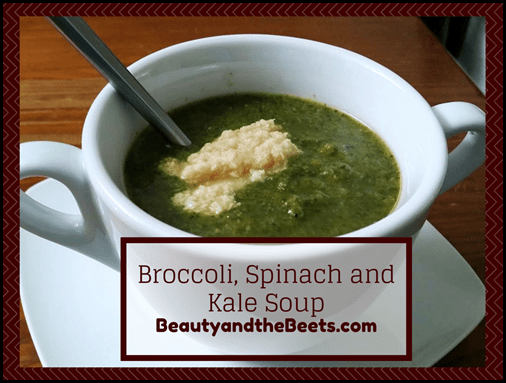 Broccoli, Spinach and Kale