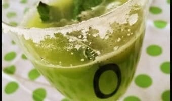 Celery, Lime and Mint Mocktail