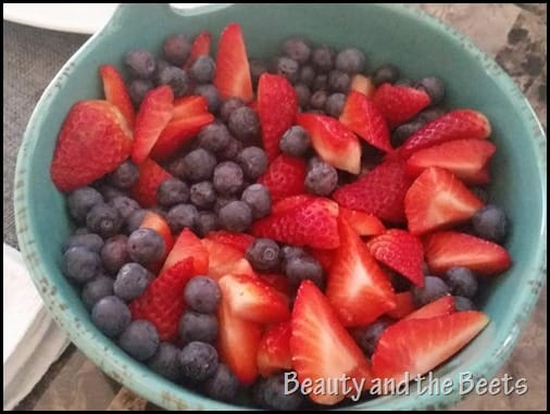 Fresh berries fruit Beauty and the Beets