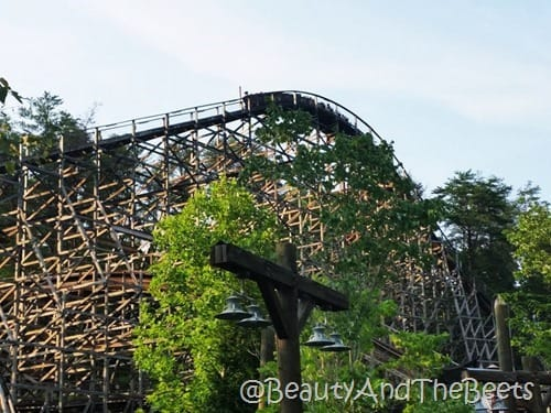 Fastest Wooden Coaster Dollywood Beauty and the Beets