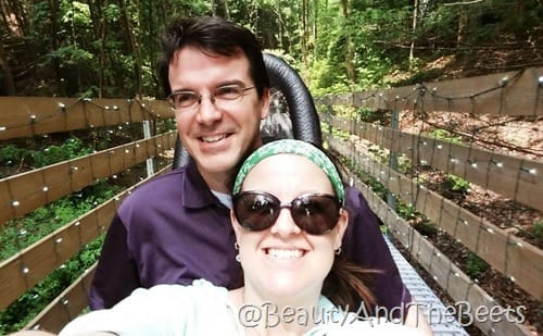 Gatlinburg Mountain Coaster Beauty and the Beets