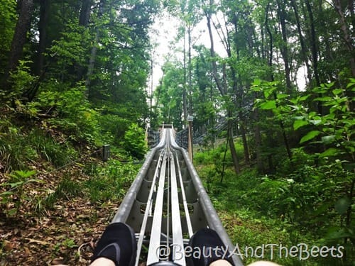 Gatlinburg Mountain Coaster go Beauty and the Beets