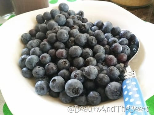 Blueberries Beauty and the Beets