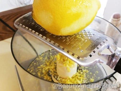 lemon zest Beauty and the Beets
