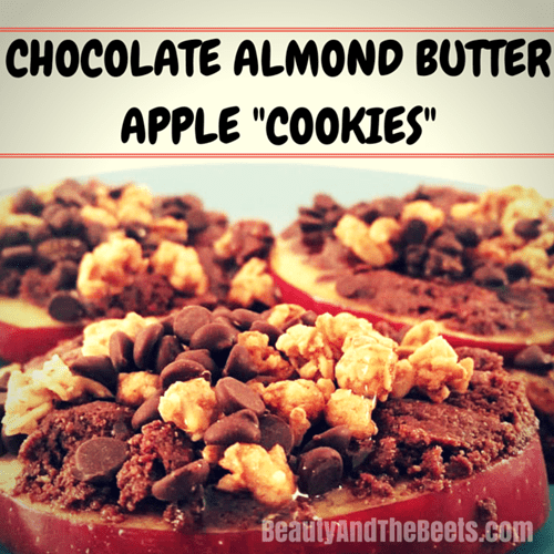 Chocolate Almond Butter Apple Cookies Beauty and the Beets