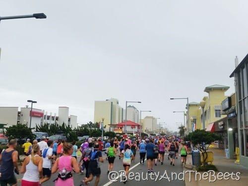Runners VA Beach half marathon Beauty and the Beets