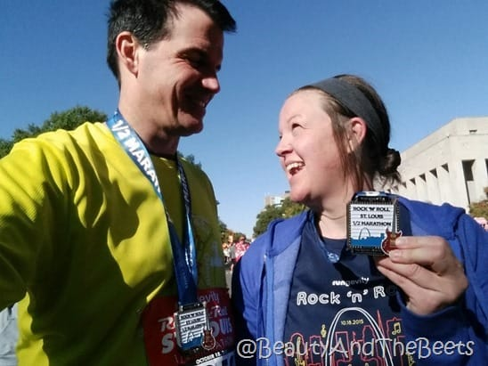 St Louis Rock n Roll Half Marathon Beauty and the Beets