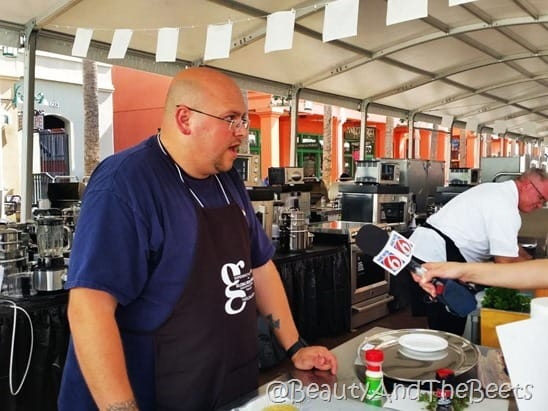 Jason Mayhew Orlando Fun and Food World Food Championships Beauty and the Beets