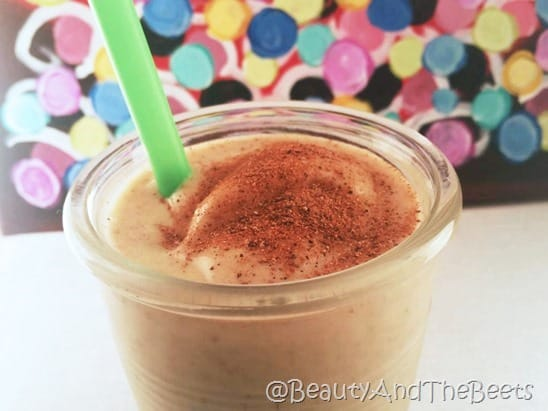 Egg Nog Smoothie Vegan Beauty and the Beets