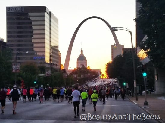 Longevity RocknRoll St Louis Half Marathon Beauty and the Beets