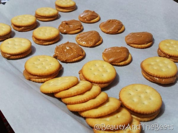 Peanut Butter Crackers Cookies Beauty and the Beets