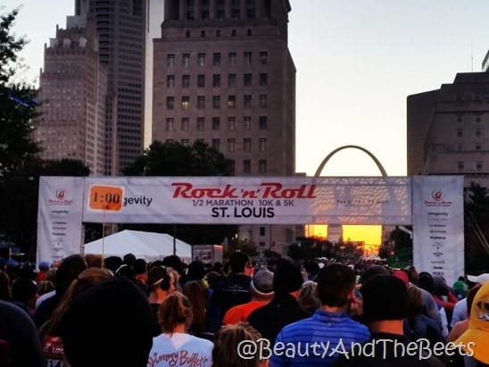 RocknRoll St Louis Half Marathon 2015 Beauty and the Beets
