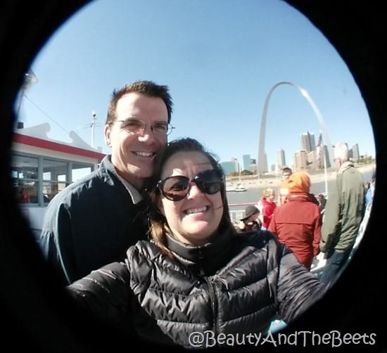 The St. Louis Arch Beauty and the Beets