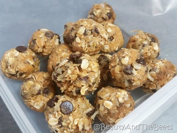 Almond Butter Energy Snack Balls Beauty and the Beets