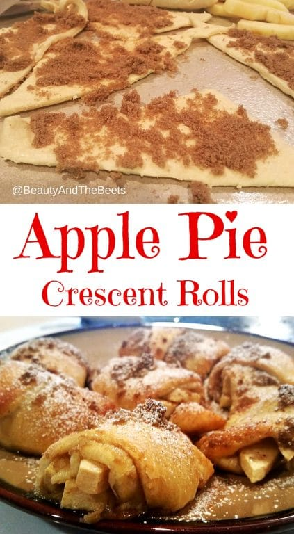 Apple Pie Crescent Rolls pinterest Beauty and the Beets