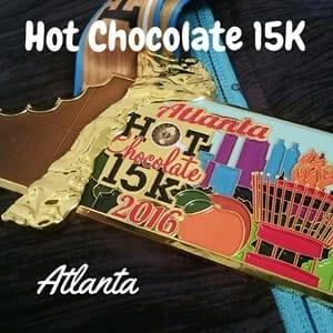 Beauty and the Beets Hot Chocolate 15K Atlanta