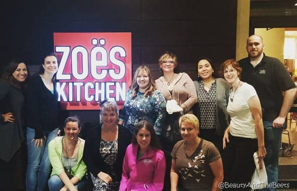 Central Florida Lady Bloggers Zoes Kitchen Winter Springs